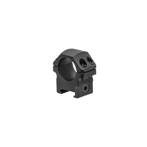 Coppia di anelli per fissaggio ottiche P.O.I.® professionali 30mm BASSI