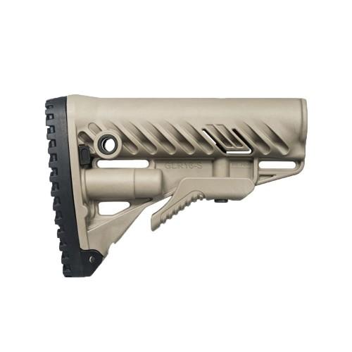 FAB DEFENCE CALCIO COLLASSABILE PER M4/AR15 (GLR16) SABBIA