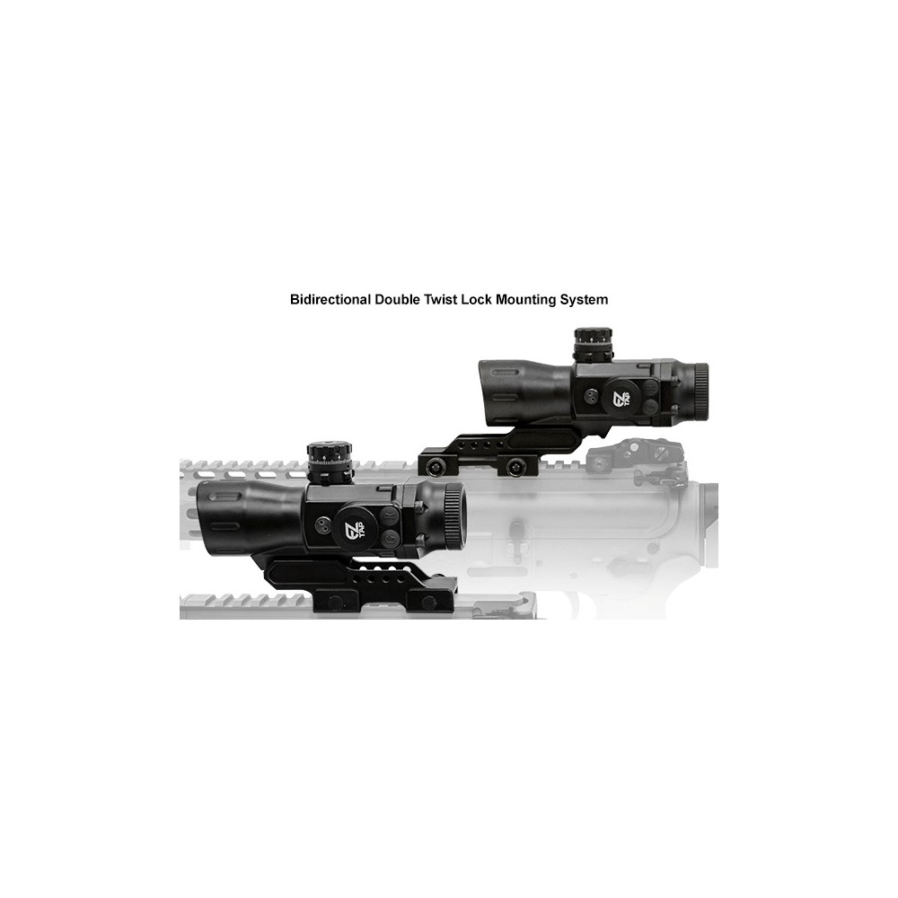 OtticaTactical 1-4x28 con lenti multirivestimento