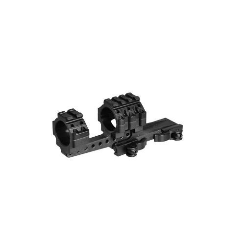 Supporto a sgancio rapido offset per ottiche da 30mm Picatinny