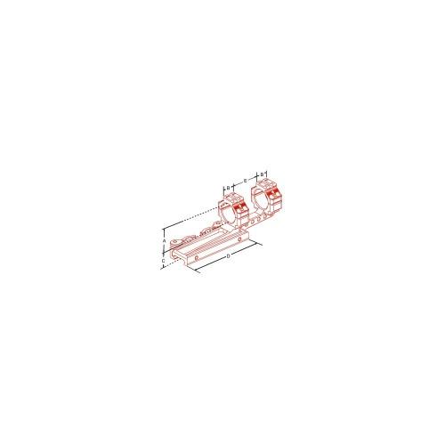 Supporto a sgancio rapido per ottiche da 30mm  Picatinny