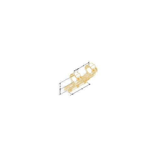 Supporto ultraleggero offset ottiche da 30 mm Picatinny