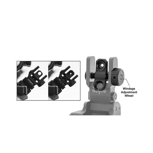 Coppia di anelli per fissaggio ottiche RGPM Picatinny Weaver