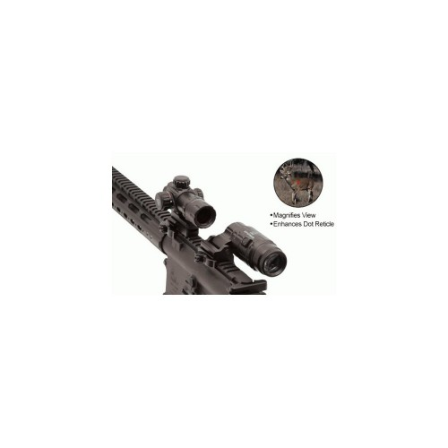 UTG MAGNIFIER 3X FLIP UP