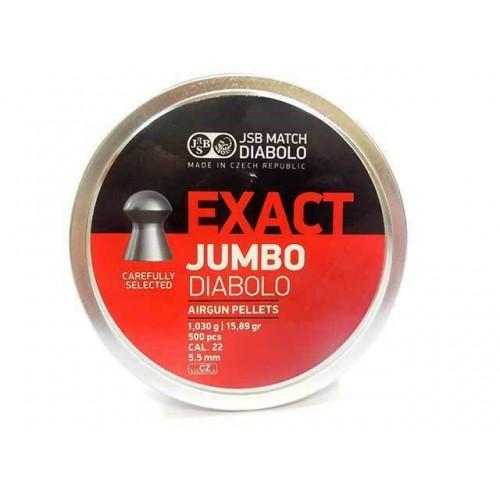 JSB JUMBO EXACT 5,52 (CONF 500 PZ)