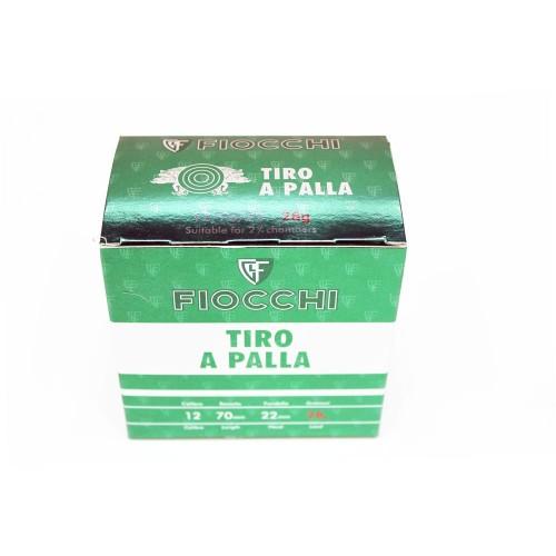 12/70 FIOCCHI TIRO A PALLA CERVO 28 GR (CONF 25 PZ)