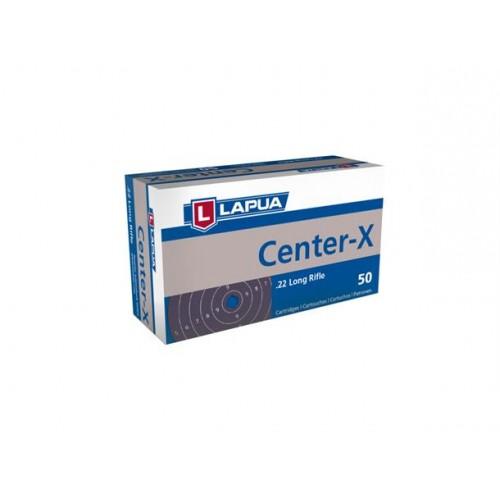 22 LR LAPUA CENTER-X (CONF 50 PZ)