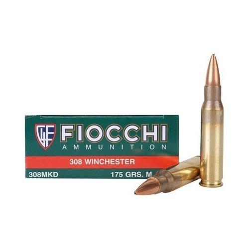 308 WINCHESTER FIOCCHI EXACTA HPBT 175 SMK (CONF 20 PZ)