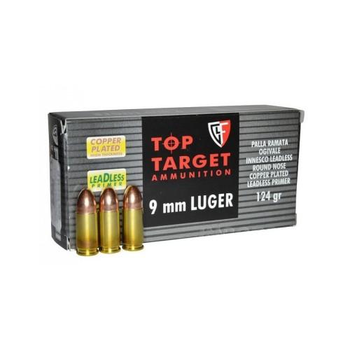 9 LUGER FIOCCHI RNCP 124 RAM TOP TARGET LINE (CONF 50 PZ)