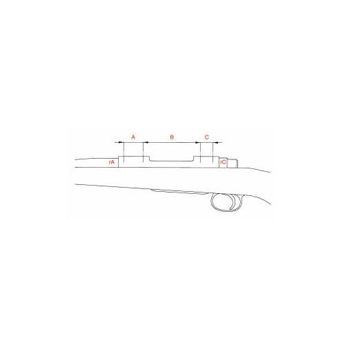 Anelli Leupold QR diam. 1'' medi opachi -49974