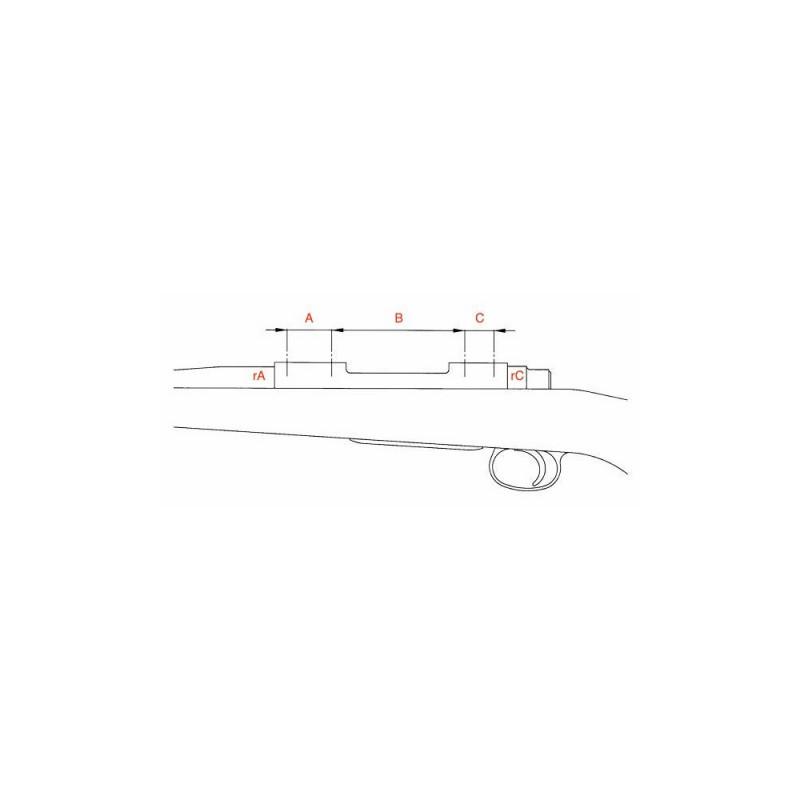 Anelli per ottica RG2W Picatinny 30MM BASSI